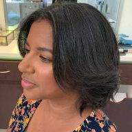 textured blowout amoy couture NY