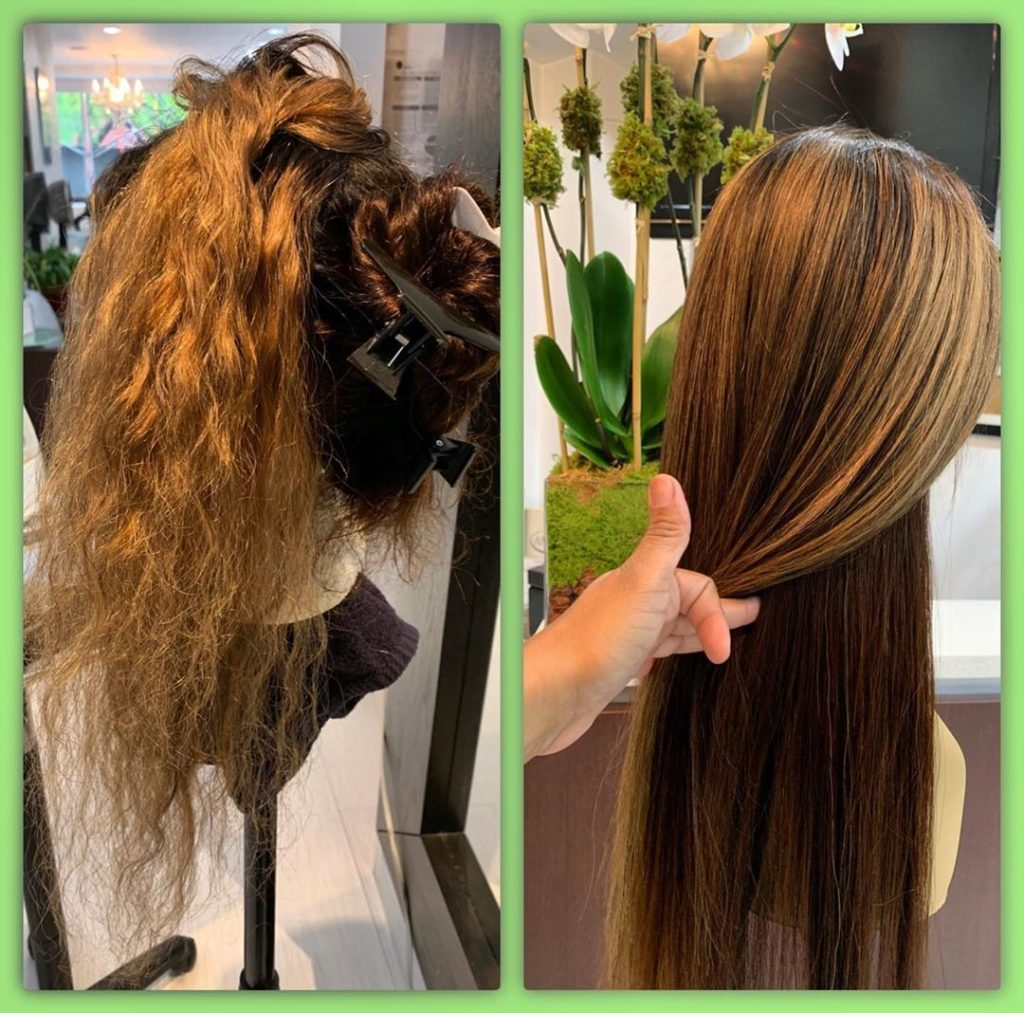 hair color correction on full lace wig amoy couture NY