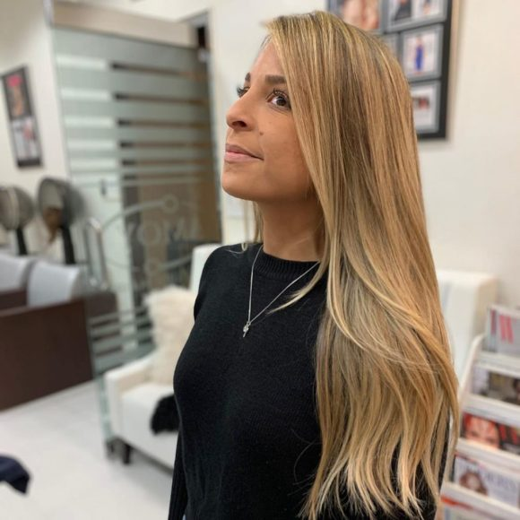 hair extensions with highlights Amoy NYC