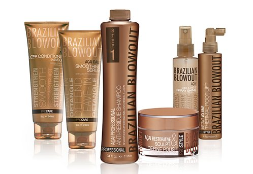 brazilian blowout products