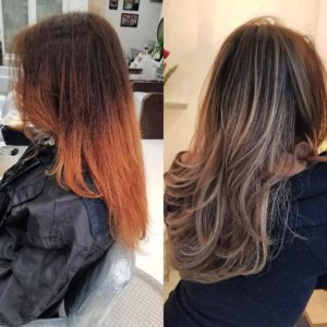 hair color correction Amoy Couture NYC