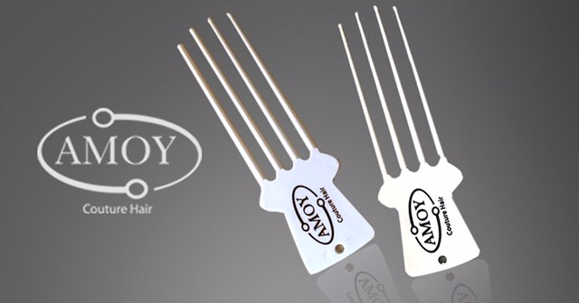 weave and wig scratcher coif comb by amoy
