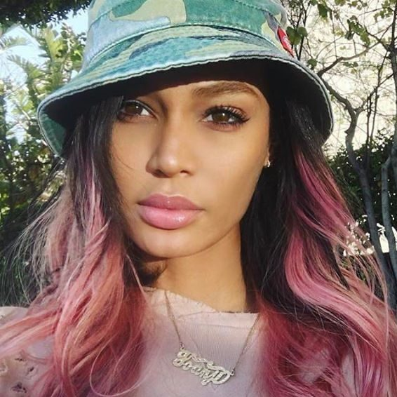 joan smalls coachella hair extensions amoy couture hair NYC