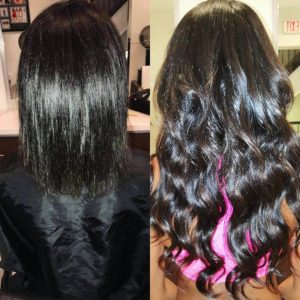 short to long hair extensions NYC