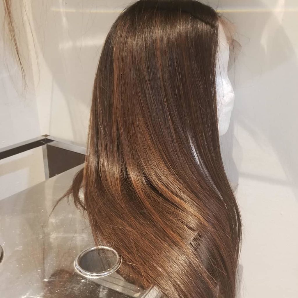 custom hair color lace wig amoy couture hair salon Manhattan NYC