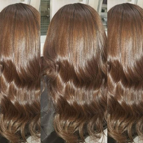 single process color Amoy Couture amoy couture hair salon Manhattan NYC