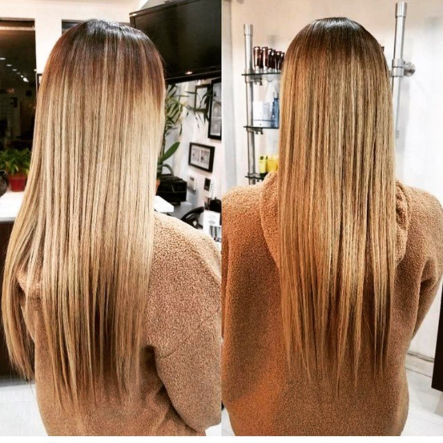 blonde highlights amoy couture NYC